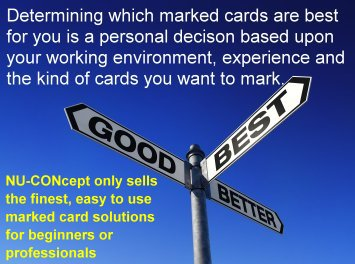 best marked cards