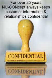 marked cards confidential